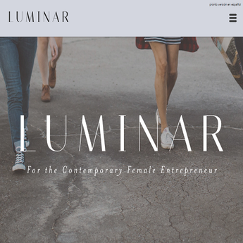 Luminar Project- for the contemporary female entrepreneur