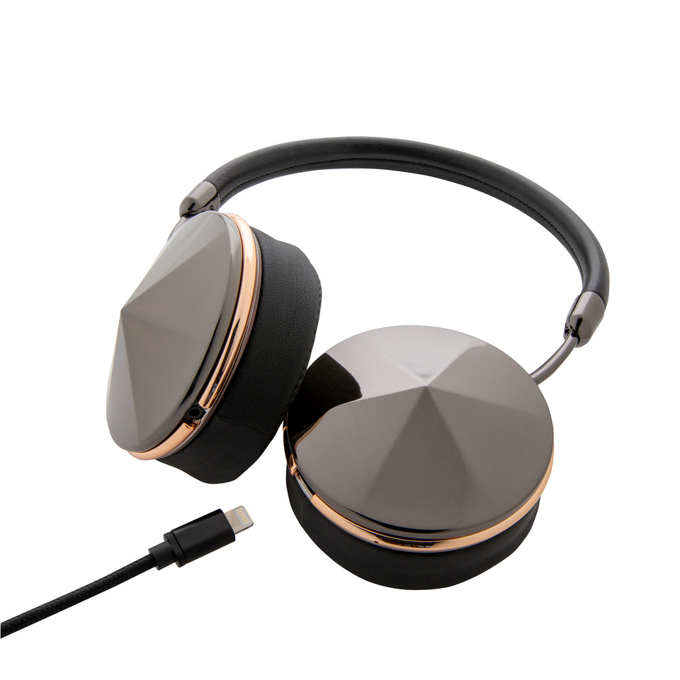 TAYLOR GUNMETAL ROSEGOLD - WIRELESS