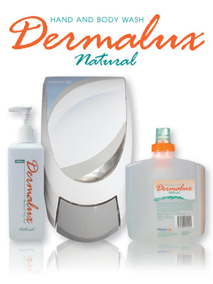 Dermalux Natural Hand and Body Wash 1L
