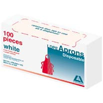 Disposable Aprons LDPE 100 Box