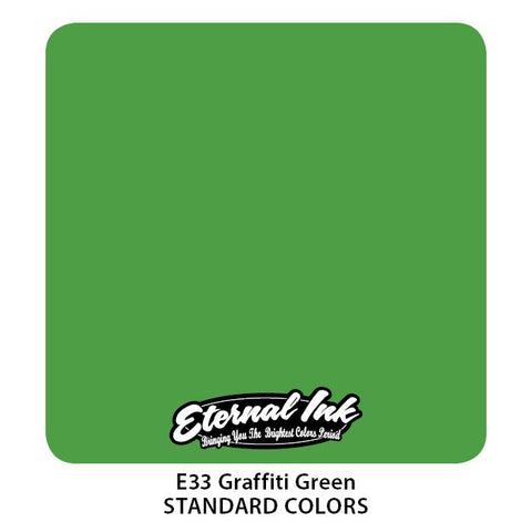 Eternal - Graffiti Green
