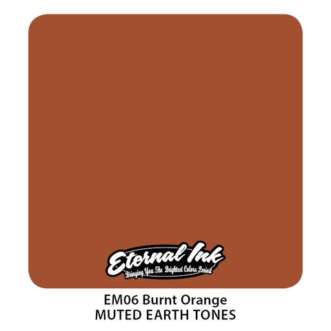 Eternal - Muted Earth Tones Burnt Orange