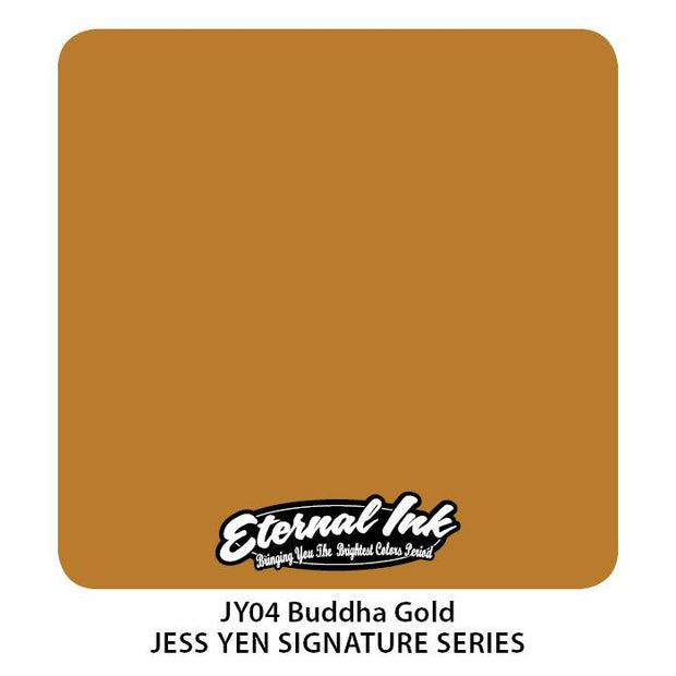 Eternal - Jess Yen Buddha Gold