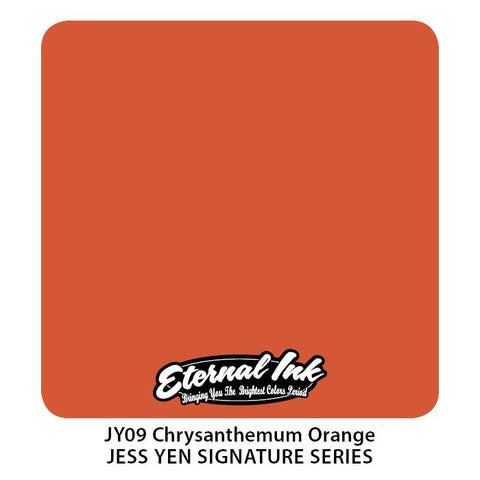 Eternal - Jess Yen Chrysanthemum Orange