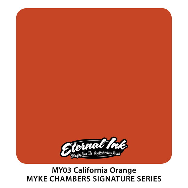Eternal - Myke Chambers California Orange
