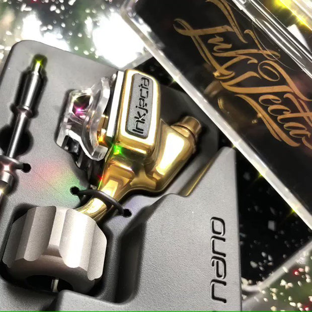 Inkjecta Flite Nano - Polished Brass