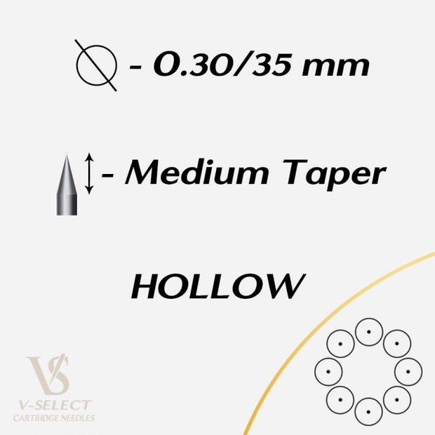 V-Select - Hollow Round Liner