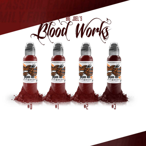 World Famous - Big Joel Blood Works Set 1oz
