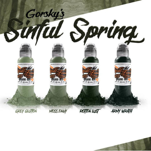 World Famous - Gorsky's Sinful Spring Set 1oz