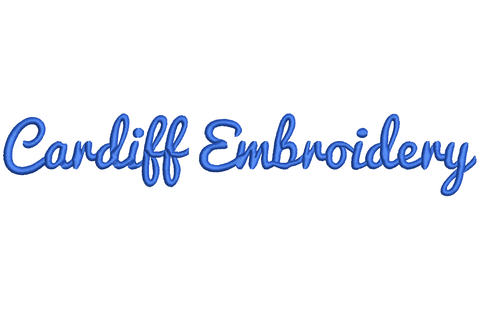 Cardiff Embroidery Logo