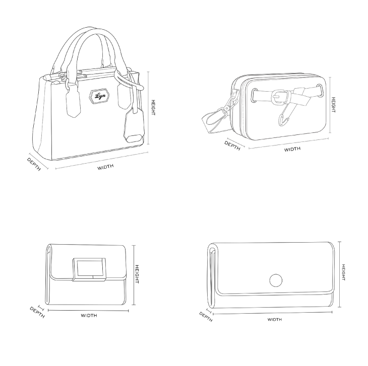 LYN Bags Size Guide
