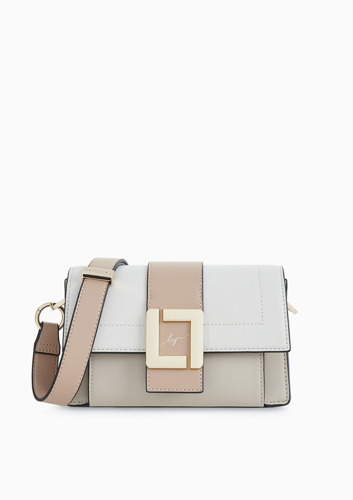 DOUBLE CROSSBODY BAG - BAGS | LYN Official Online Store
