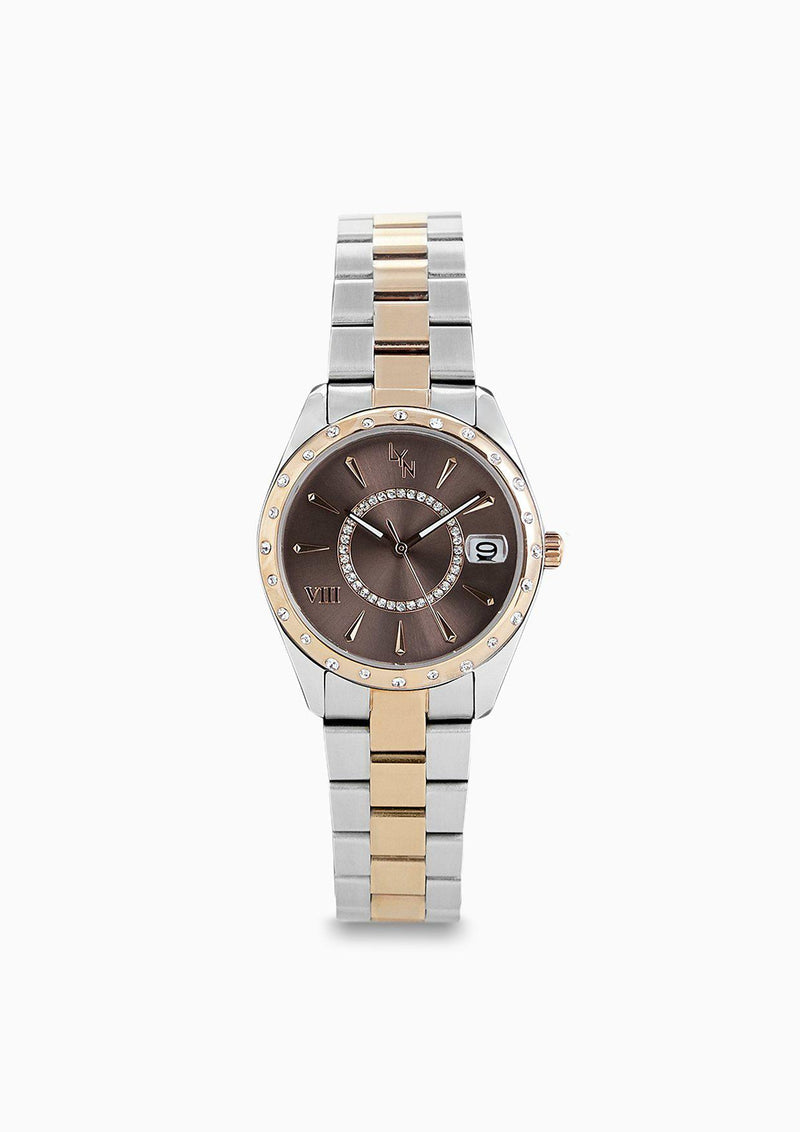 ROSE WATCHES BROWN - ACCESSORIES | LYN Official Online Store