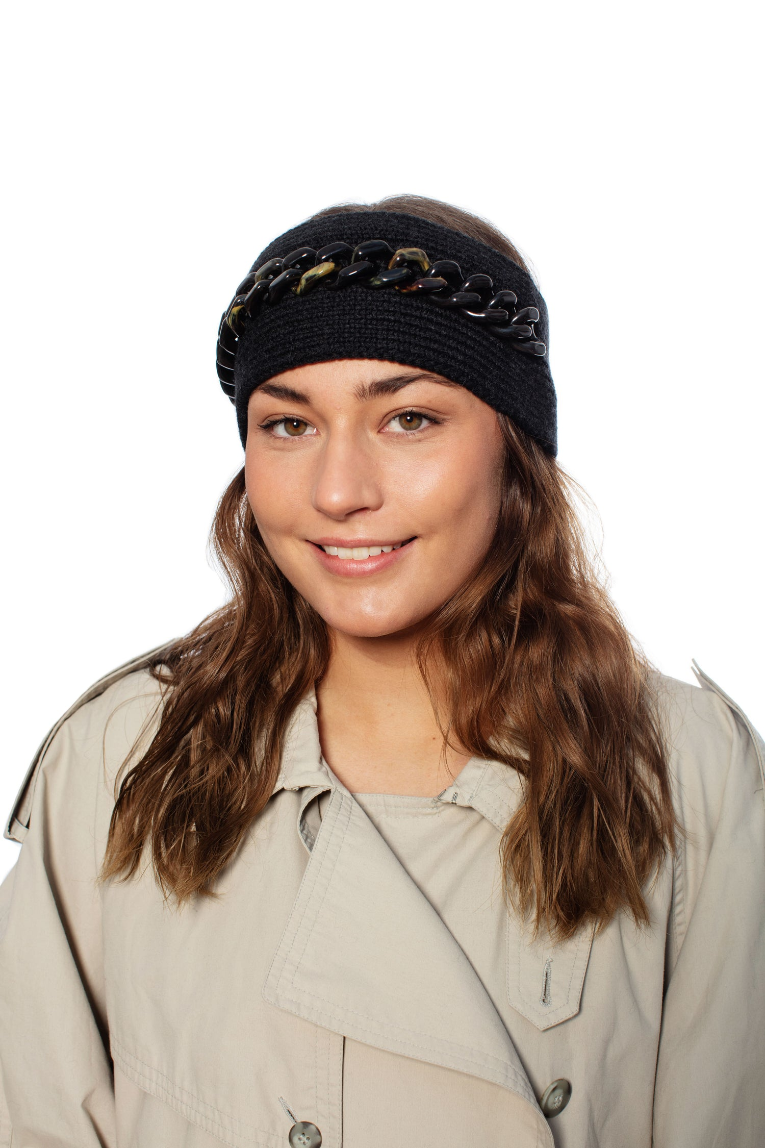No. 5 Headband with chain