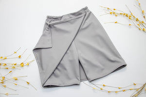 Juniors | Combination Culotte - Front Panel & Full Skirt Back (Summer Solids)