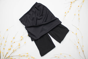 Plus | Skirt-Style Culottes (Core Solids)