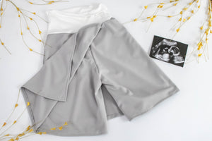 Maternity | Double Panel - Front and Back (Core Solids)