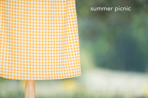 Juniors | Combination Culotte - Front Panel & Full Skirt Back (Winter Patterns)