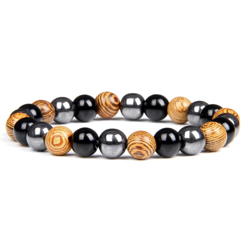 "Bracelet ""Triple Protection"" - Healthy Yoga"