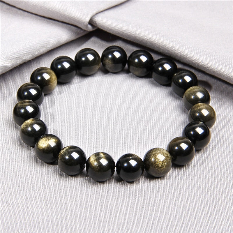 "Bracelet ""Obsidienne"" - Healthy Yoga"