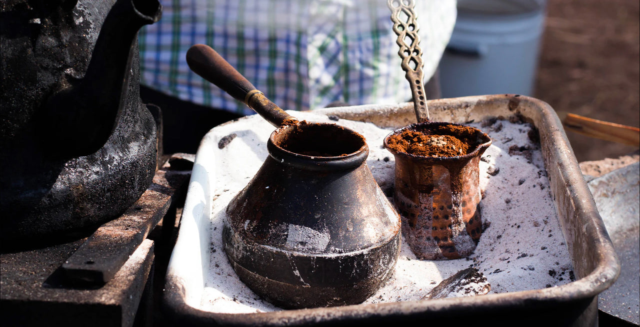 How To Brew With A Turkish Pot (Cezve)