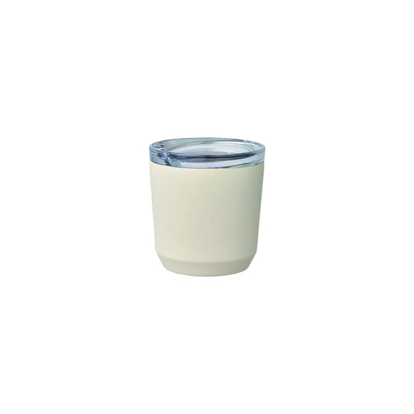 KINTO TO GO TUMBLER 240ML WHITE - BUNAMARKET