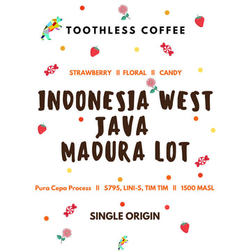 Indonesia West Java, Madura Lot