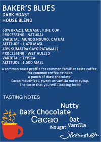 Bakers Blues Blend - DARK ROAST - BUNAMARKET