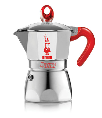 BIALETTI DAMA VANITY 3 CUPS ROSSO RED (7702)
