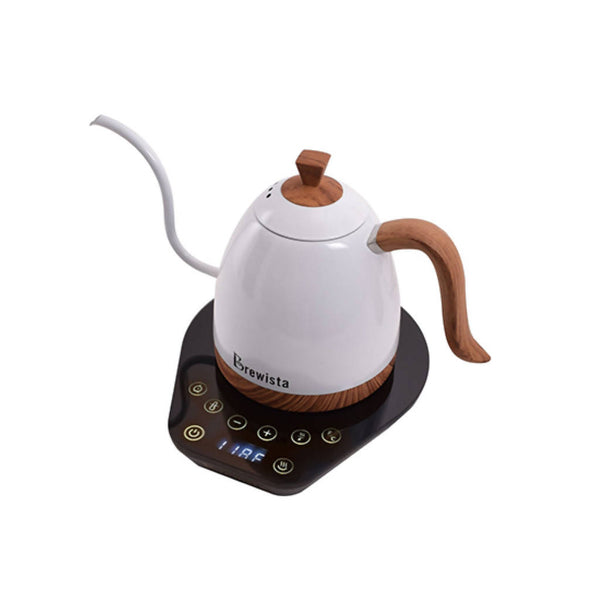Brewista Artisan 600ml Gooseneck Variable Temperature Kettle - Pearl White - BUNAMARKET