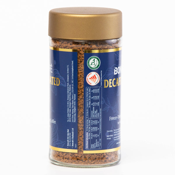 Boncafé Decaffeinated Freeze-Dried Instant Coffee - BUNAMARKET