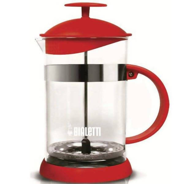 BIALETTI COFFEE PRESS 1L RED - BUNAMARKET