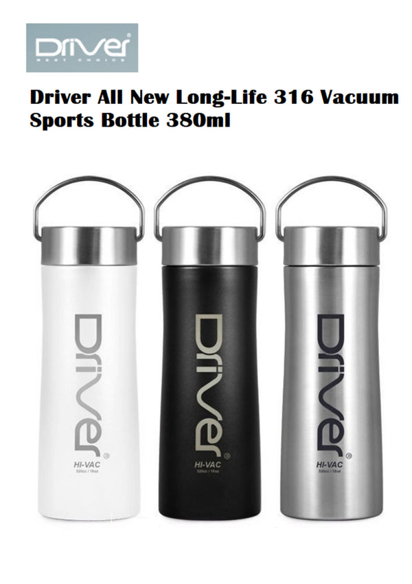 Driver All New Long-Life 316 Vacuum Sports Bottle 380ml - BUNAMARKET