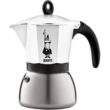 BIALETTI MOKA INDUCTION 6 CUPS WHITE (7771)