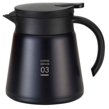 Hario Insulated Stainless Steel Server 550ml (BLK)