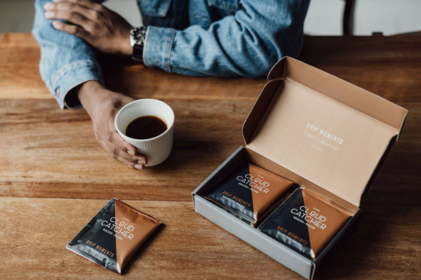 Drip Moments: Specialty Coffee Drip Bags (Box of 8) - BUNAMARKET