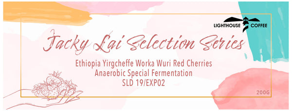 Jacky Lai Selection Series - Ethiopia Yirgcheffe Worka Wuri Red Cherries Anaerobic Special Fermentation SLD 19/EXP02 (200GM) - BUNAMARKET
