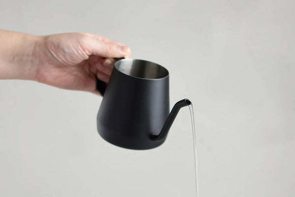 KINTO POUR OVER KETTLE 430ML BLACK - BUNAMARKET