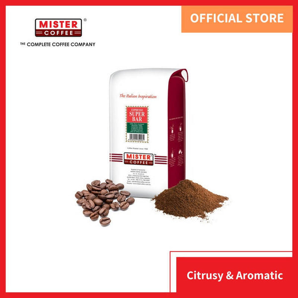 [Mister Coffee] Coffee Bean / Ground Coffee - Espresso Super Bar (500g) - BUNAMARKET