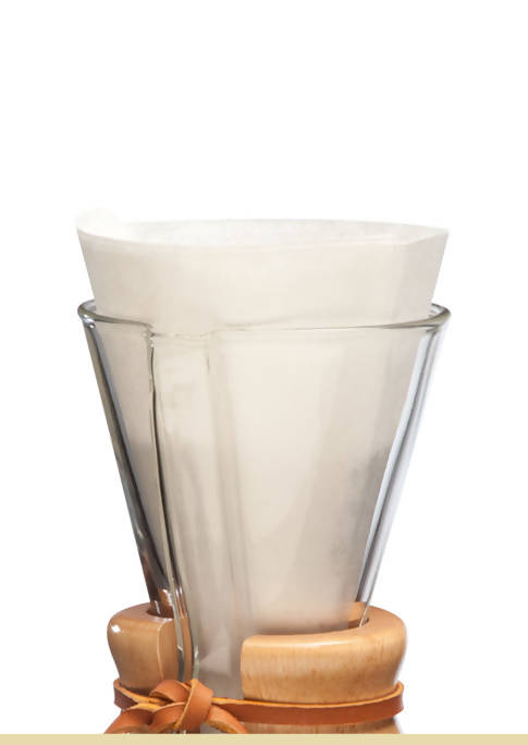 CHEMEX FP-2 Half-Moon Unfolded Filter Paper (Suitable for CM-1 / CM-1C / CM-1GH) - BUNAMARKET
