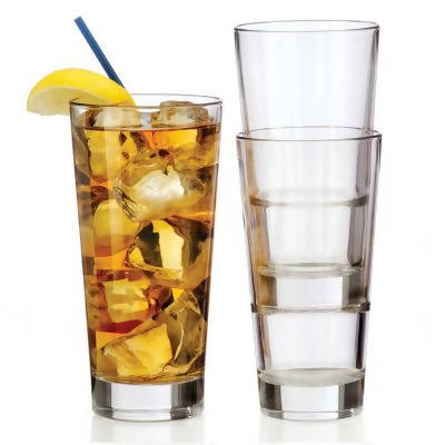 LIBBEY Endeavor Stackable Highball Glass 14 oz /414ml - (6 pcs) - BUNAMARKET