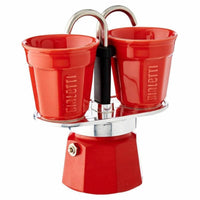 BIALETTI MINI EXPRESS - RED - BUNAMARKET