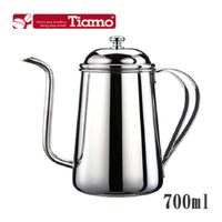 Tiamo Stainless Steel Narrow Mouth Pouring Kettle - BUNAMARKET