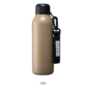 RIVERS VACUUM FLASK STEM TAN