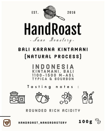 Bali Karana Kintamani (Natural process)