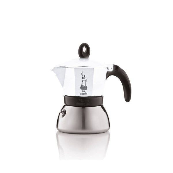 BIALETTI MOKA INDUCTION 3 CUPS WHITE (7757) - BUNAMARKET