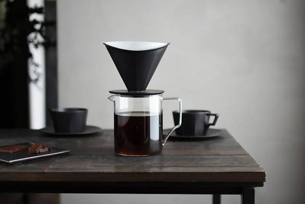KINTO OCT BREWER 4CUPS BLACK - BUNAMARKET