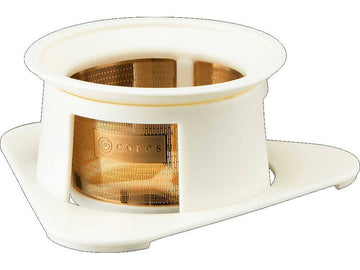 CORES C211 SINGLE CUP GOLD FILTER WHITE