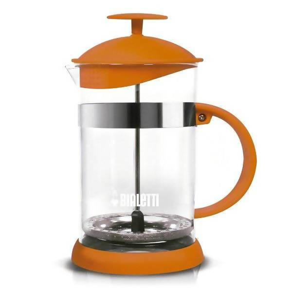 BIALETTI COFFEE PRESS 1L ORANGE - BUNAMARKET