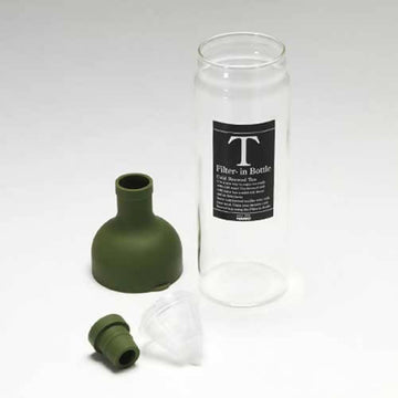 HARIO FILTER-IN BOTTLE 750ML OLIVE GREEN